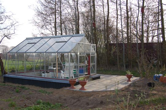 fundament til drivhus
